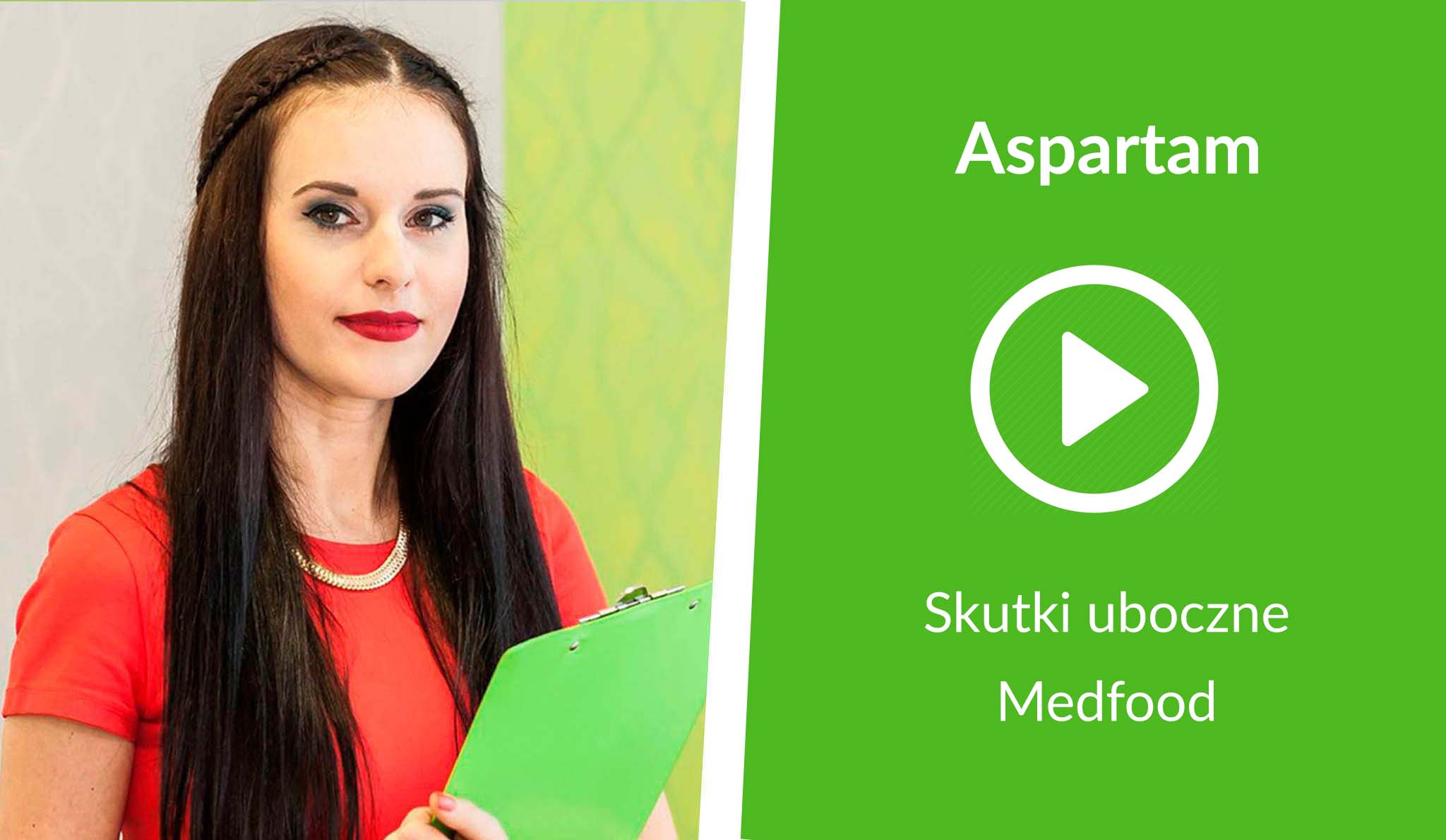 [Wideo] Medfood: Aspartam i jego skutki uboczne