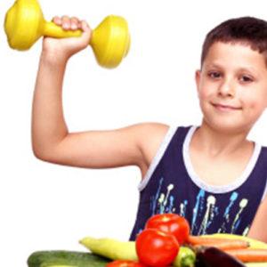 dieta dzieci sport