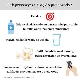 Jak przyzwyczaić się do picia wody?